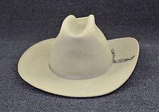 Vintage RESISTOL Dakota Tan Felt Self Conforming XX Western Cowboy Hat - Size 7
