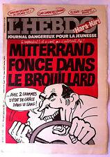 "Hara Kiri N°7 du 2/09/1981; ""journal dangereux pour la jeunesse"""