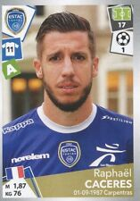 511 RAPHAEL CACERES ESTAC TROYES  STICKER PANINI FOOT 2018