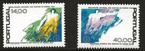 Portugal Scott #1408-09, Singles 1978 Complete Set FVF MNH