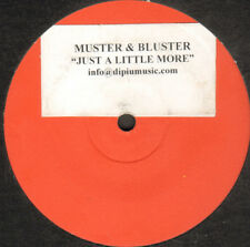 Muster & Buster ‎– Just A Little More - Dipiù ‎– DPU 1013 - Ita 2002