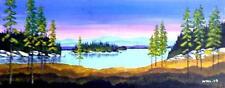 Original Northern Quebec Landscape - POST SUNSET BLUES (Mitris  2008)