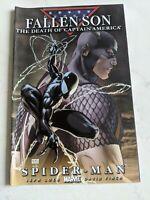 Fallen Son THE DEATH OF CAPTAIN AMERICA #4 July 2007 Marvel Comics SPIDER-MAN