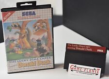 THE LUCKY DIME CAPPERO STARRING DONALD DUCK SEGA MASTER SYSTEM MS conf. orig.