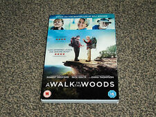 A WALK IN THE WOODS : 2016 REDFORD & NOLTE - BILL BRYSON DRAMA DVD (FREE UK P&P)