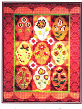 A Touch of India - exotic applique & pieced quilt PATTERN - Applique after Hours