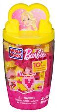 Mega Bloks Barbie Art n' Craft Bulk Blocks ( Micro Tub of Mega Bloks Barbie )