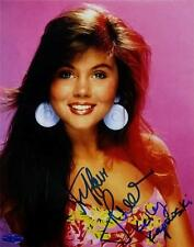 Tiffani Amber Thiessen Signed Kelly Kapowski Saved By The Bell 8x10 Photo COA A