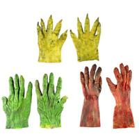 Monster Costume Gloves Halloween Masquerade Party Scary Toy Supplies Decor