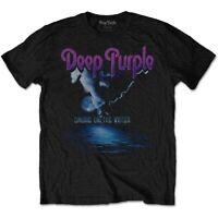 "Deep Purple ""Smoke On The Water"" Black Rock T-Shirt Adult XXL Tee"