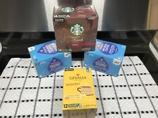 KEURIG STARBUCKS-Dark, GEVALIA-Mild & VITACUP-Medium Energy 48 K Cups Pods Total