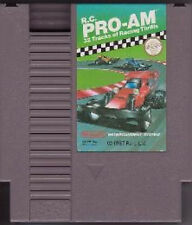 RC PRO-AM R.C. NINTENDO GAME ORIGINAL CLASSIC NES HQ
