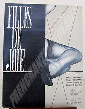 FILLES DE JOIE Guy des Cars doc pub film Daniel TINAYRE 1962 Mirtha LEGRAND ...