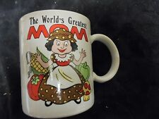 """Decorative Collectable """"The World's Greates Mom"""" Mug"""