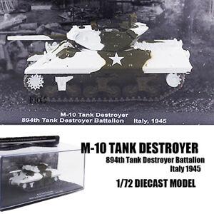 M-10 Tank Destroyer 894th Tank Destroyer Battalion Italy 1945 1/72 TANK IXO