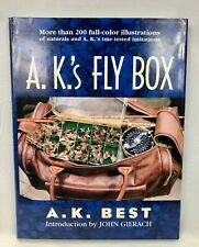 A. K.'s Fly Box by A. K. Best Hard Cover Dust Jacket 1996 Fishing