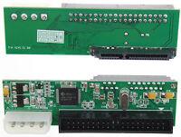 "2,5 "" Sata Festplatte HDD DVD zu 40-poliger 3.5 "" IDE PATA Adapter Konverter"