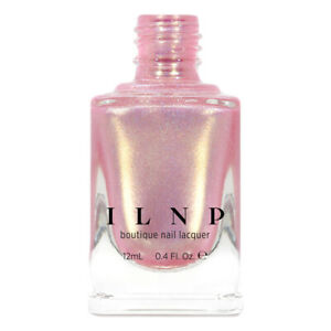 ILNP Yes Please - Soft Pink Holographic Shimmer Nail Polish