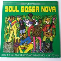 VA - Soul Bossa Nova - Vinyl LP UK 2002 Press EX/EX+ Roy Ayres Mose Allison