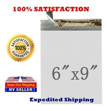 2000 6X9 White 2.0 Mil Poly Mailer Self Sealing Shipping Envelopes Bags  PM#1