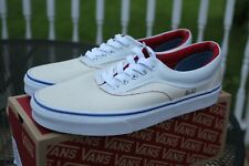 VANS New Era Outside In Men Size USA 8 UK 7.5 Natural Navy Red MSRP $60.00