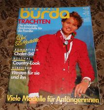 Trachten  Burda Special von 1987 Stricken  Strickheft  Handarbeitsheft