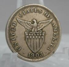 Philippines 1903 5 Five Centavos Coin C1945