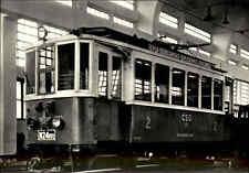 Eisenbahn Motiv-Postkarte CSSR Triebwagen elektrisch Railway Bahn Zug der CSD