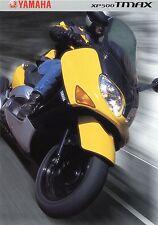 Prospekt 2001 Yamaha XP 500 Tmax Broschüre Motorroller brochure scooter Japan