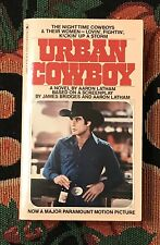 URBAN COWBOY  MOVIE TIE IN PAPERBACK  TRAVOLTA  1980  AARON LATHAM