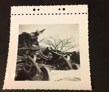 VINTAGE 1940'S TRAIN PHOTO 4X4