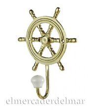 Colgador marinero rueda de timón