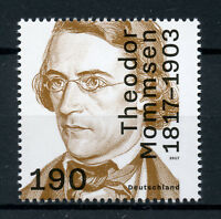 Germany 2017 MNH Theodor Mommsen 1v Set Writers Historians Politicians Stamps