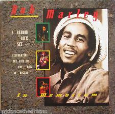Bob Marley ~ In Memoriam ~ 3 X Vinilo Lp Box Set