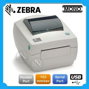 Zebra GC420d Built-in USB+Parallel+Serial Port Direct Thermal Printer 203DPI