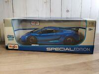 Maisto 2007 Lamborghini Gallardo Superleggera Exclusive Color 1:18 Diecast Car