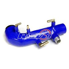 REV9 BLUE 02-07 / WRX 04-14 STI EJ20 EJ25 TURBO INLET SILICONE DIRECT BOLT ON US