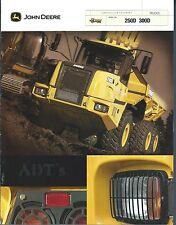 Equipment Brochure - John Deere 250D 300D Articulated Dump Truck c2002 (E3763)