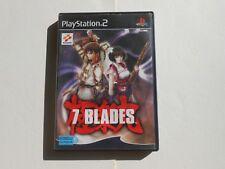 Jeu sony playstation 2 - 7 Blades PS2 - PAL - FR (complet)