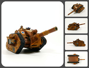 Warhammer 40K 40000 - Astra Militarum - Leman Russ Tank with Earthshaker Cannon