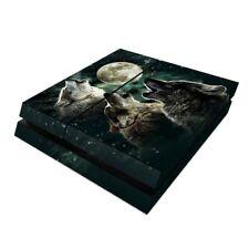 Sony PS4 Console Skin Kit - Three Wolf Moon - DecalGirl