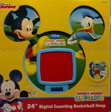 "Disney Junior Mickey Mouse Clubhouse 24"" Digital Counting Basketball Hoop"