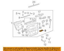 GM OEM-Interior Door Handle Left 25815889
