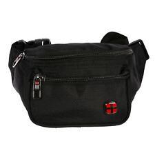 Fanny Pack Men's Women's Boys Girls Bag Hip Bag Nylon Black Red New