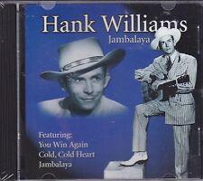 HANK WILLIAMS,JAMBALAYA CD,BRAND NEW FREE SHIPPING USA 15 SONGS