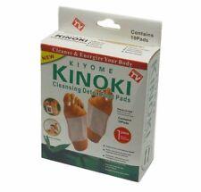 10 x Kinoki Detox Foot Pad Patches Remove Harmful Body Toxins Health UK