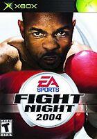 Fight Night 2004 (Microsoft Xbox, 2004) Original Platinum Hits Disc Only