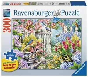 "Ravensburger  -  ""Spring Awakening"" -  Puzzle 300 Lg piece  NEW"
