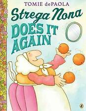 Strega Nona Does it Again by Tomie DePaola (Paperback, 2017)