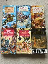 Terry Pratchett Discworld Books New Paperback x6 joblot collection
